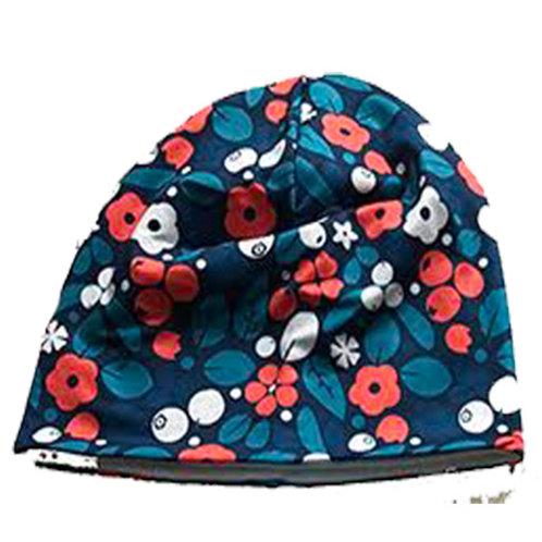 Floral Hats Red Flower Pattern or Orange Flower Pattern