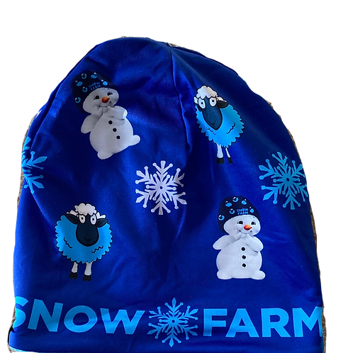 Snowman at & Neckwarmer