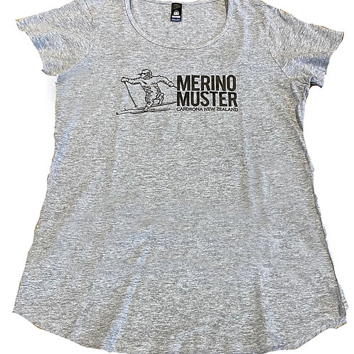 Ladies Scooped Neck T-Shirt
