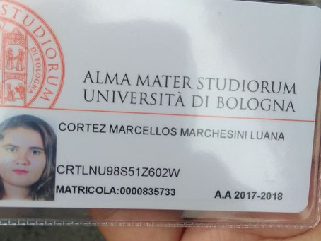 Matrícula e Bolsa na Universidade de Bologna