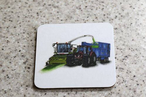 Silage art place mat