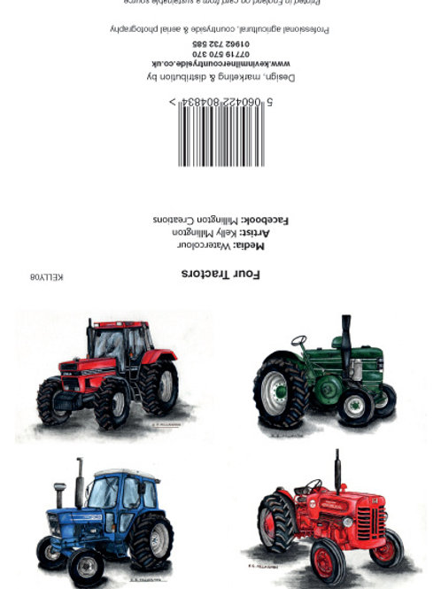 Four Tractors