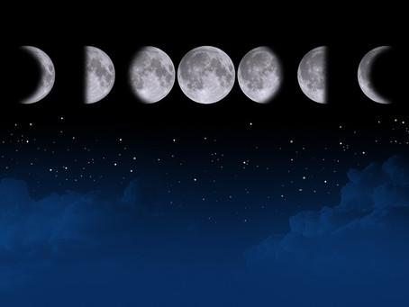 人体も月の満ち欠けに影響される