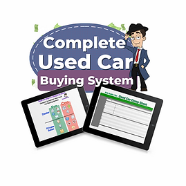 Copy of Used Car Buying System - Sheets