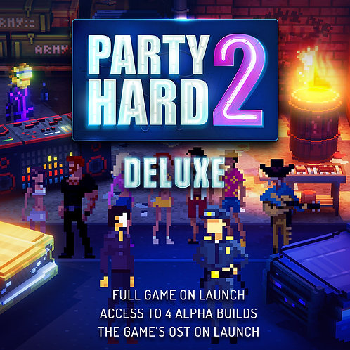 Party Hard 2 Deluxe Pack (PC-Only)
