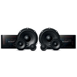 """Sony 6.5"""" GS Series 3-Way Component Speakers System, 320W/120W"""