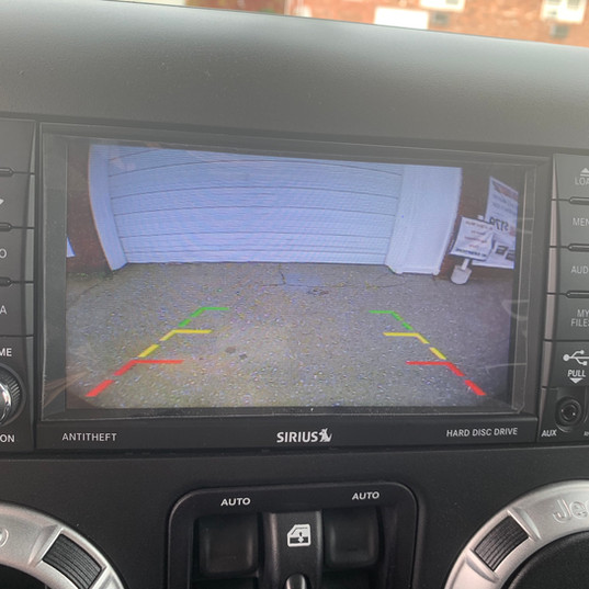 Backup Camera Integration to OEM Screen in a Jeep Wrangler