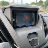 JVC Head Unit in Ford Transit