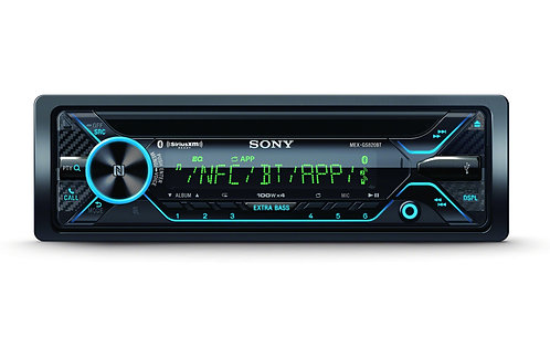 Sony CD Receiver High-Power GS Series with Dual Bluetooth®, SiriusXM Ready