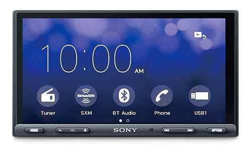 """Sony 6.2"""" Media 2-DIN Receiver with Bluetooth®"""