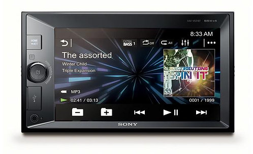 "Sony 6.2"" Media Receiver with Bluetooth®, Voice Control, TomTom & Rear Camera"