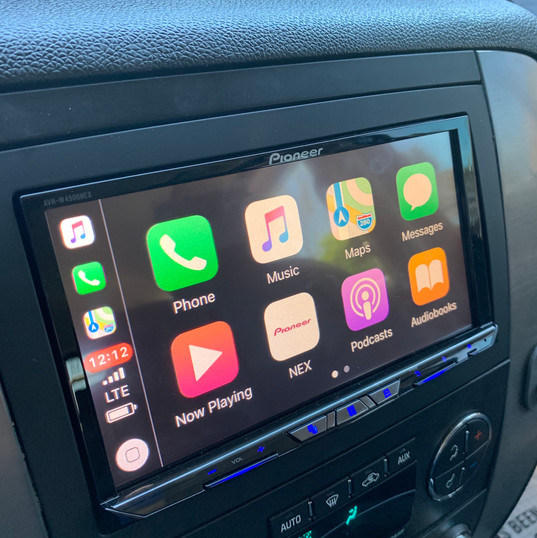 Apple CarPlay Screen