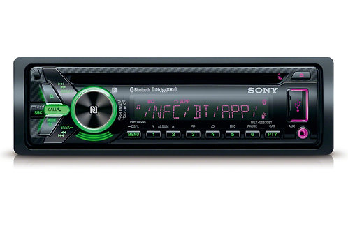 Sony CD Receiver with Dual Bluetooth®, Dual USB and Voice Control