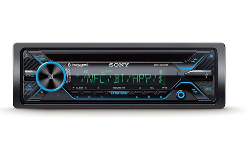 Sony High-Power CD Receiver with NFC and Dual Bluetooth®, 180W RMS