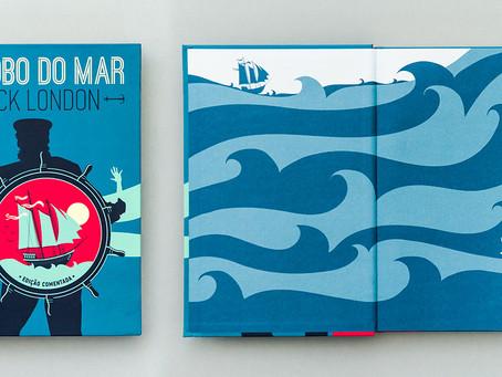 'O Lobo do Mar' é experiência literária profunda e inesquecível