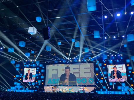 CCXP 2019: 'É meu filme favorito', diz Ryan Reynolds sobre 'Free Guy'