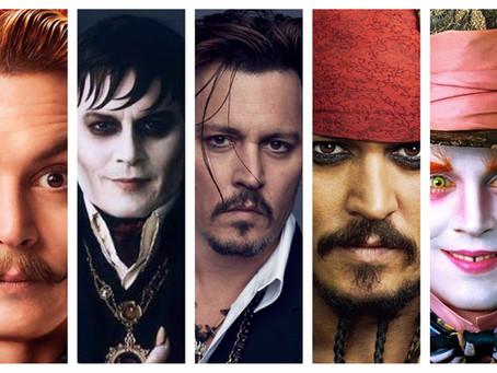 Johnny Depp e a sua máscara de Jack Sparrow