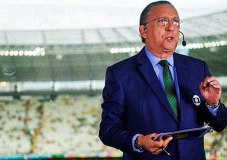 Na transmissão da Copa, Luís Roberto e Galvão se destacam