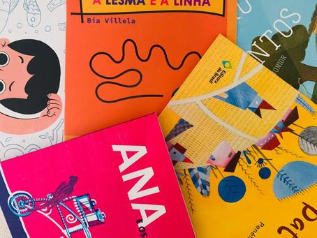 5 livros infantis brasileiros sobre alfabeto, culinária e até luto