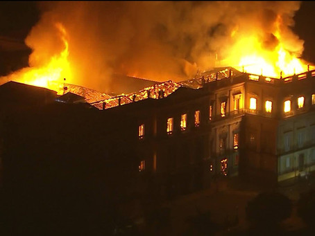 Incêndio do Museu Nacional representa amnésia cultural do Brasil
