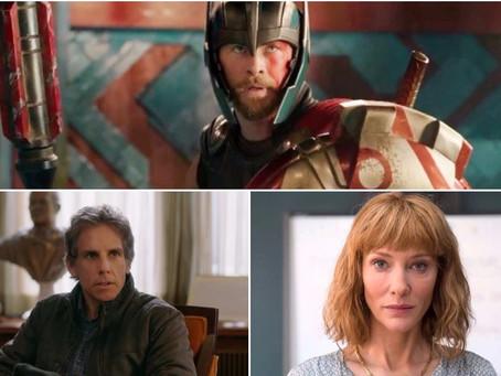 'Thor: Ragnarok' e filme de Cate Blanchett chegam aos cinemas