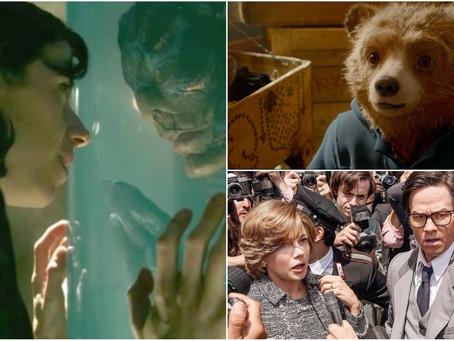 'A Forma da Água' e filme de Ridley Scott chegam aos cinemas