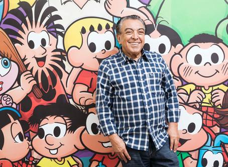 Aos 60 anos, Maurício de Sousa Produções se universaliza