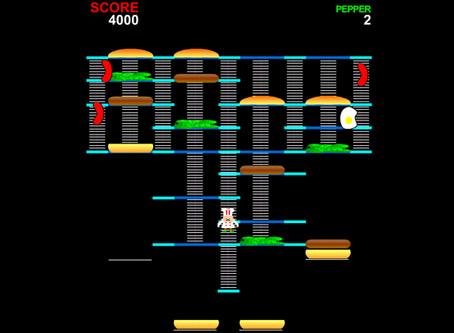 Baú dos games: relembre 'BurgerTime', clássico do Intellivision