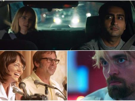 'A Guerra dos Sexos' e filme de Robert Pattinson chegam aos cinemas