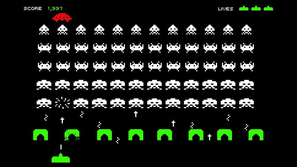 Baú dos games: relembre Space Invaders, clássico do Arcade