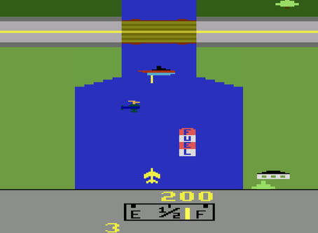 Baú dos games: relembre 'River Raid', clássico do Atari