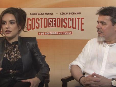 Vídeo: confira a entrevista completa com Kéfera e Cássio Gabus Mendes