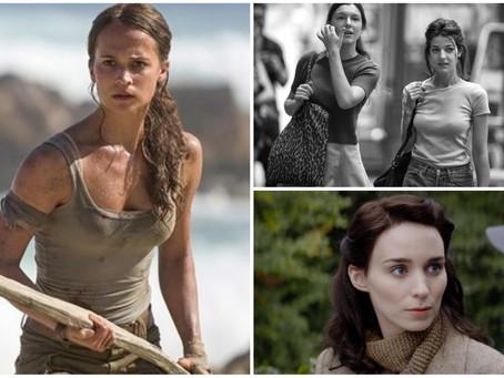 'Tomb Raider' e filme sobre Maria Madalena chegam aos cinemas