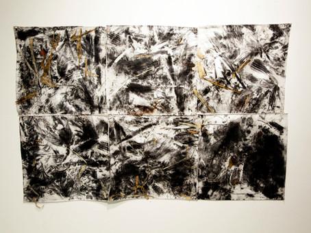 Carlos Vergara apresenta esculturas e trabalhos em asfalto em SP