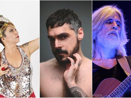 Agenda: Oswaldo Montenegro, Rita Benneditto e Paulo Ho fazem show em SP
