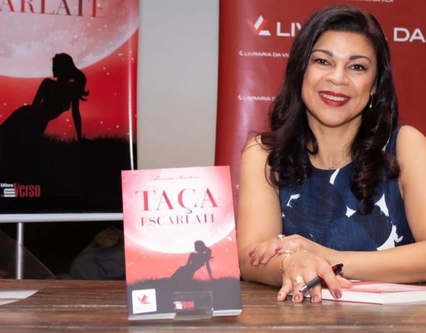 Luciane Monteiro é autora de 'Taça Escarlate' (Crédito: Divulgação)