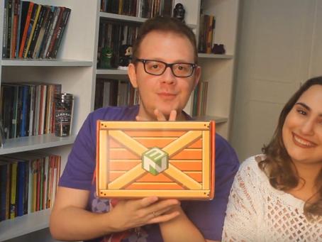 Vídeo: veja unboxing da Nerd ao Cubo de tema 'Aventura'