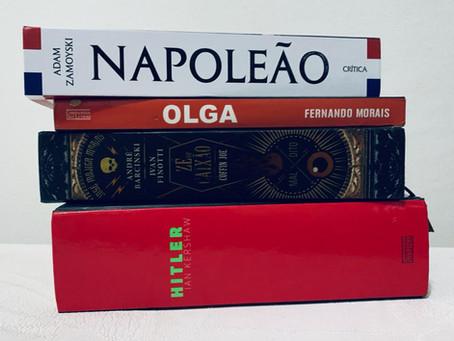 4 biografias essenciais sobre personalidades históricas