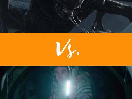 Com tramas similares, 'Alien: Covenant' e 'Vida' se enfrentam nos cinemas