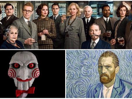 'Jogos Mortais' e filme de Agatha Christie chegam aos cinemas