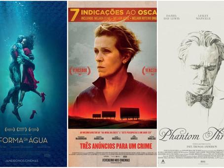 Opinião: ranking do pior ao melhor do Oscar em 2018