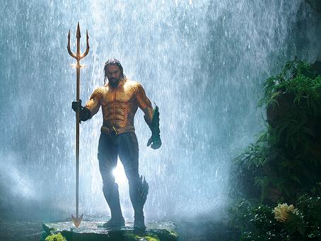 Crítica: 'Aquaman' é filme grandioso -- até mais do que deveria