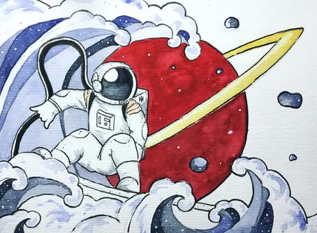 Conheça o 'Diário de um Astronauta', HQ em financiamento coletivo