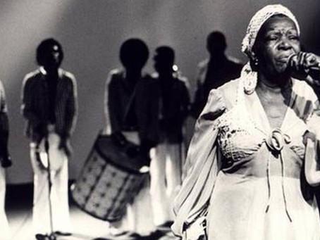 Os bastidores do ensaio afro-brasileiro sobre Clementina de Jesus