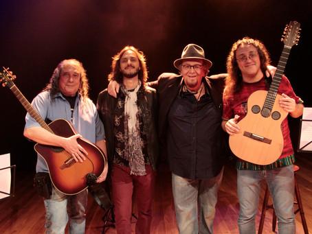 Gerações de cantores fazem um tributo ao folk e ao rock rural