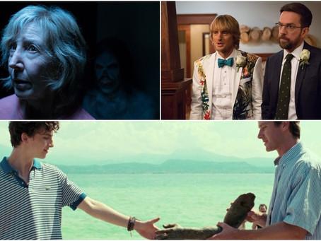 'Me Chame Pelo Seu Nome' e filme de terror chegam aos cinemas