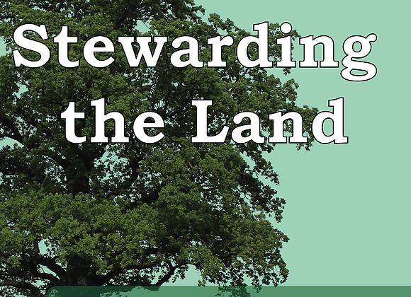 Corporate Prayer Series: Stewarding the Land - Book