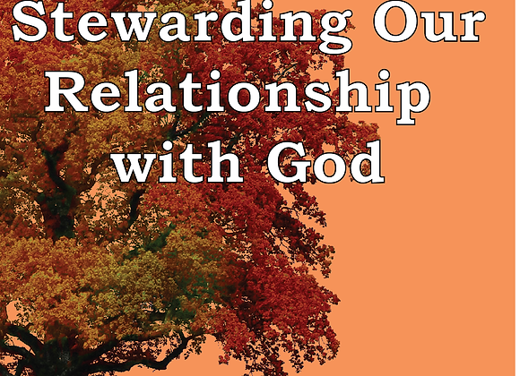 Corporate Prayer Series: Stewarding Our Relationship with God - Book