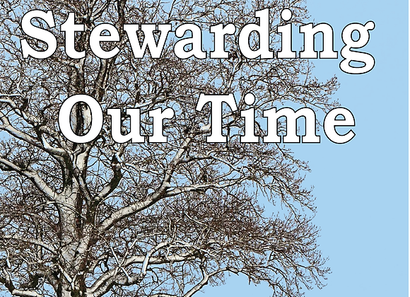 Corporate Prayer Series: Stewarding Our Time - Book