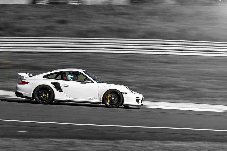 Rennstrecke Spa Franchorchamps im Porsche